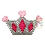 Princess Crown Applique