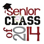Senior Class of 2014 Embroidery