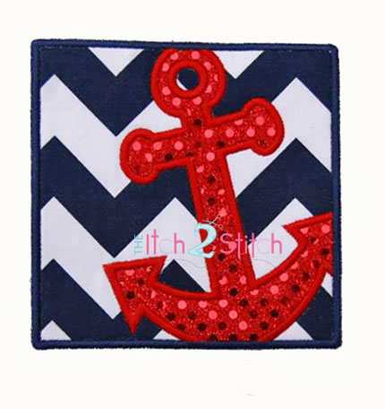 Anchor Box Applique