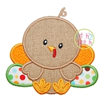 Baby Turkey 2 Applique