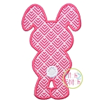 Bunny Backside Applique