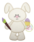 Easter Bunny Paint Applique
