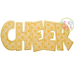 CHEER Applique