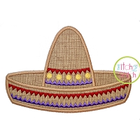 Cinco de Mayo Sombrero Applique