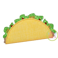 Cinco de Mayo Taco Applique