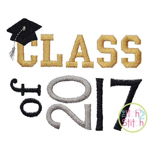 Class of 2017 Embroidery