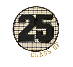 Class of 25 Circle Applique