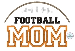 Football Mom Applique