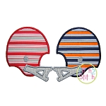 Football Helmets House Divided Applique