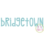 Bridgetown Embroidery Font