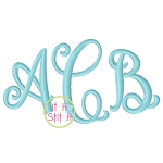 Curtsy Small Monogram