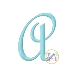 French Script Monogram