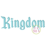Kingdom Embroidery Font
