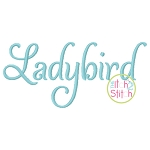 Ladybird Embroidery Font