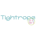 Tightrope Embroidery Font