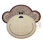 Monkey Face 2 Applique
