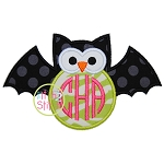 Owl Bat Applique