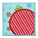Ornament Box Applique