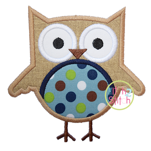 Owl 3 Applique