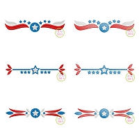 Patriotic Border Embroidery Design Set