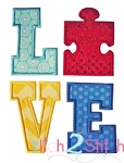 Puzzle LOVE Applique