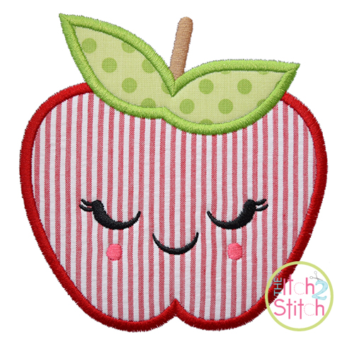 Shy Apple Applique
