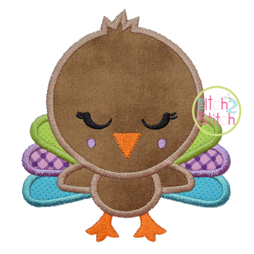 Shy Turkey Applique