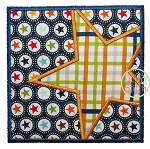Star Box Applique