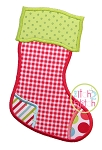 Stocking Applique