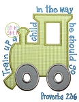 Train Up A Child Proverbs 22:6 Applique