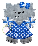 Wildcat Cheer Applique