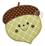Acorn Boy Applique