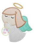 Angel Girl Applique