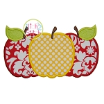 Apple Trio Applique