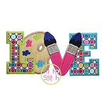 Art Love Applique