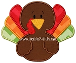 Baby Turkey Applique