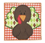 Turkey Box Applique