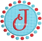 Dots Circle Patch Alpha Set