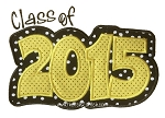 Class of 2015 Double Applique