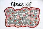 Class of 2023 Double Applique