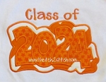 Class of 2024 Double Applique