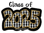 Class of 2025 Double Applique