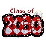 Class of 2030 Double Applique
