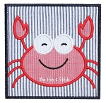 Crab Box Applique