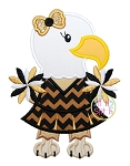 Eagle Cheer Applique