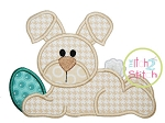 Easter Bunny Egg Applique