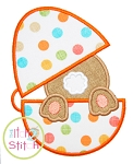 Bunny Egg Applique