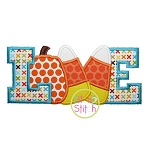 Fall Love Applique