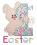 First Easter Applique