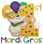 First Mardi Gras Applique